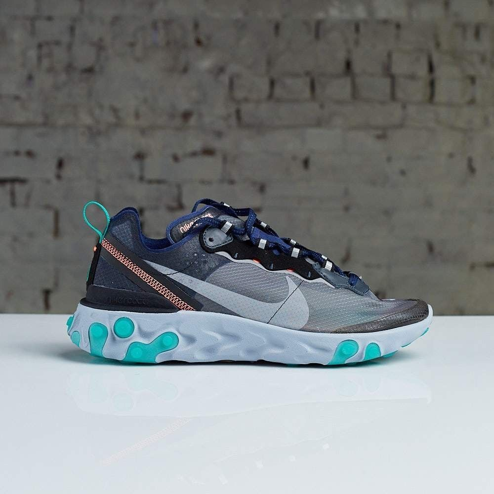 NIKE REACT ELEMENT 87 NEPTUNE GREEN Size 10.5 #fashion