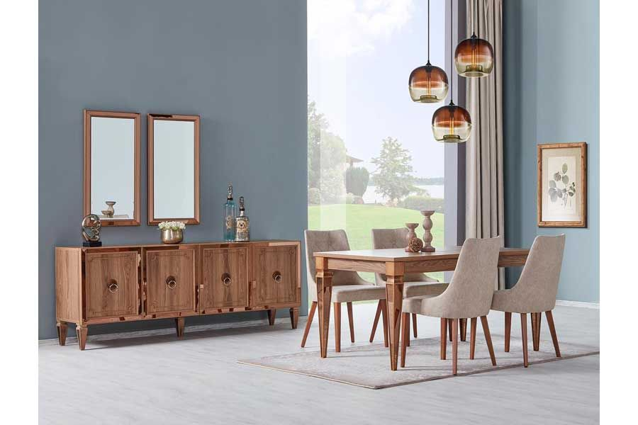 tezel verona salon masa sandalye takimi mobilya evler sandalye