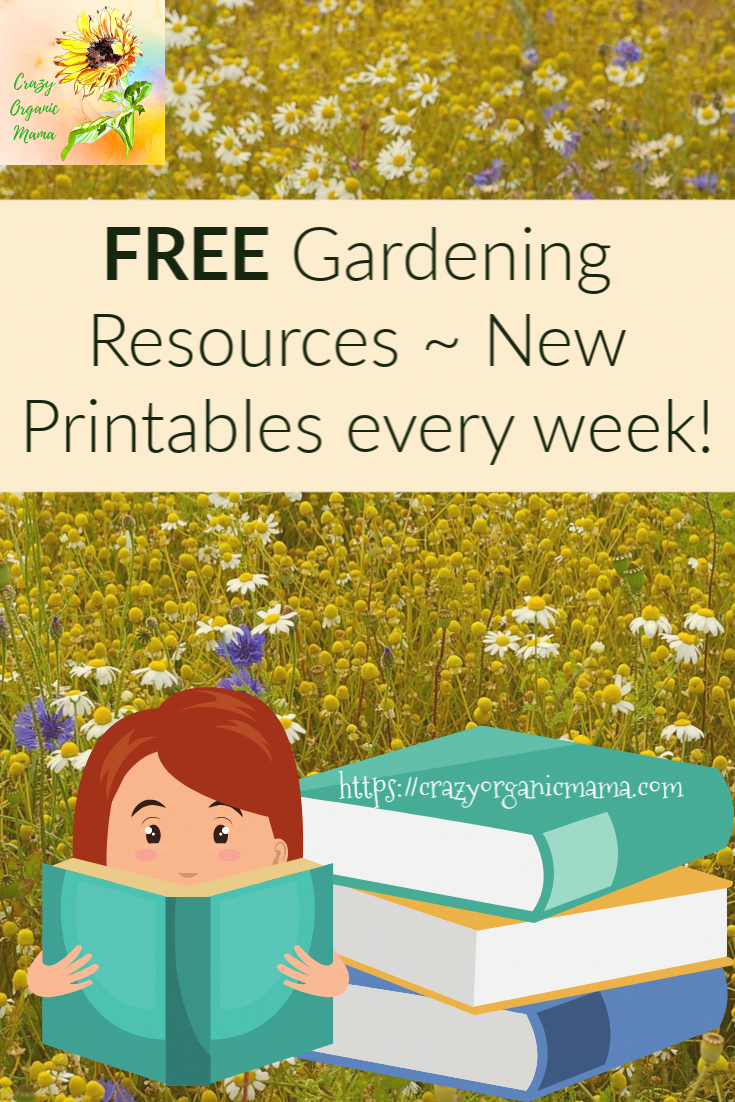 Are you a new gardener who needs simple tips for making a successful start with organic gardening this summer?  Need info on container gardening, soil preparation, seed starting or specific vegetables you'd like to grow?  Please repin and click for all of this and more, FREE!  I update with new printables weekly.