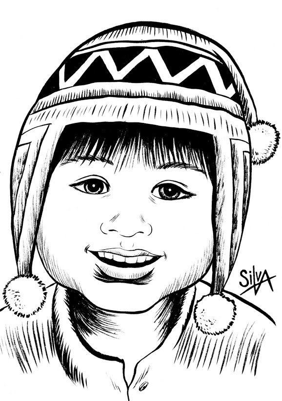 Resultado De Imagen Para Productos Del Campesino En Dibujo Art Illustration Male Sketch