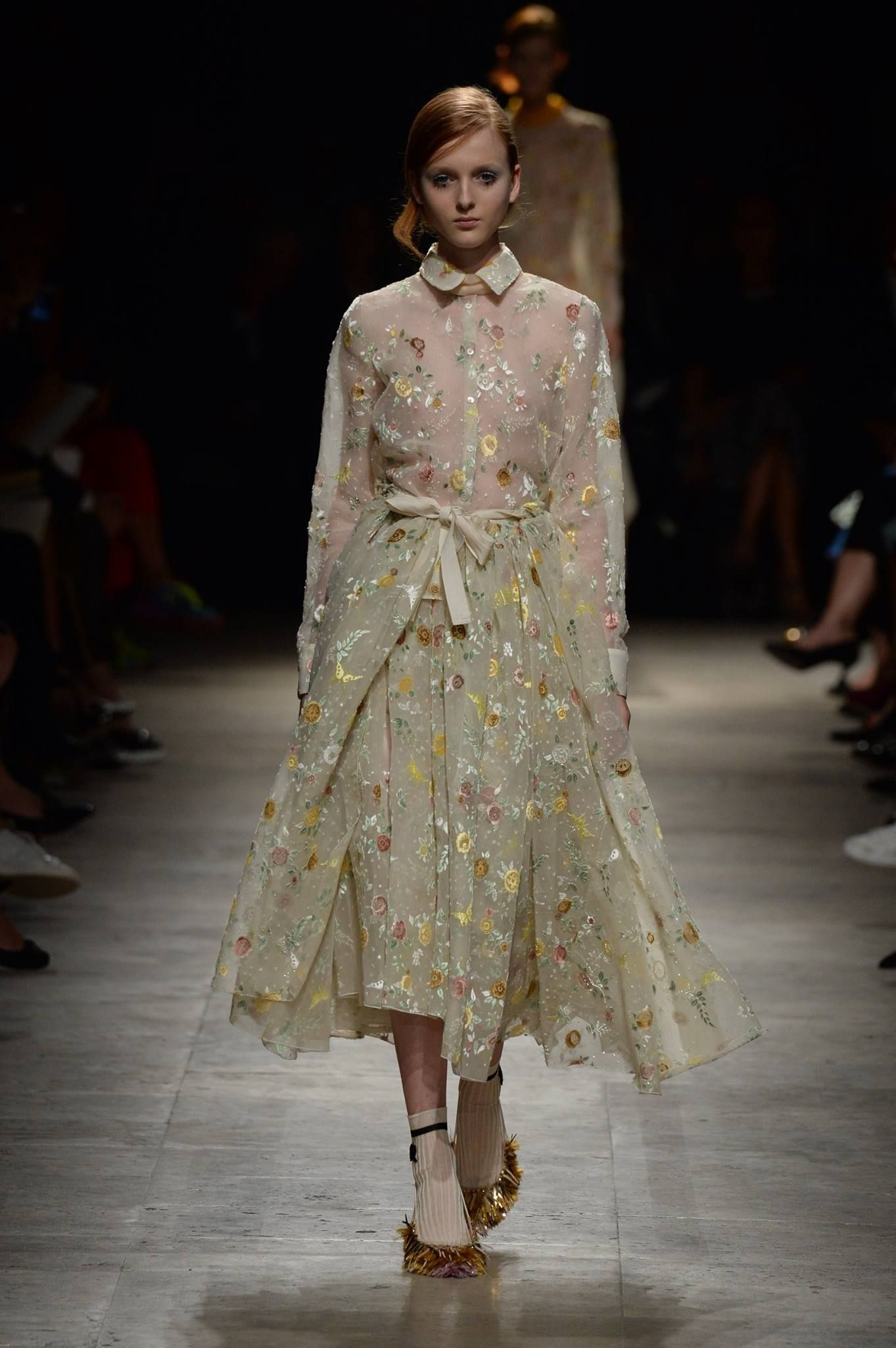 #SS15 saw a lighter touch from Alessandro Dell'Acqua