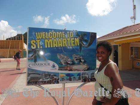 22-year-old Bermuda College graduate Denika Outerbridge has returned from working on the Norwegian Cruise Lines (NCL) cruise ship Gem. She was one of seven young Bermudians who benefited from the partnership between the Ministry of Home Affairs and NCL. Outerbridge was promoted to assistant waiter within a matter of weeks. Her plans for the future? She starts work on board the Norwegian Sky on August 11 and plans to pursue a degree in business and hospitality management.
