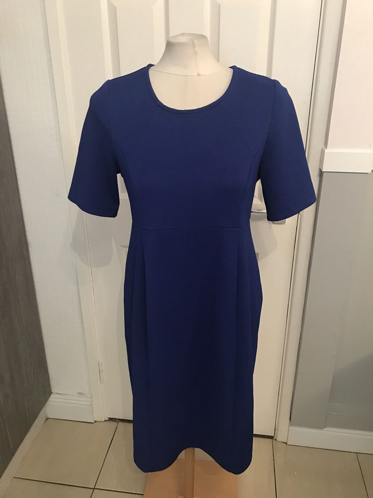 7dd0143f3f9aa Ladies Blue Dressy Style Maternity Dress Size 16 Blooming Marvellous  #fashion #clothing #shoes #accessories #womensclothing #maternity (ebay  link)