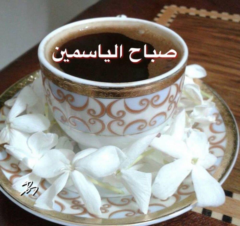 ما أجمل الصباحات المبكرة التي تغلفها رائحة القهوة ويكسوها أريج الياسمين صباحكم سعادة وفرح أحبتي وأصدقائي أبو بشار