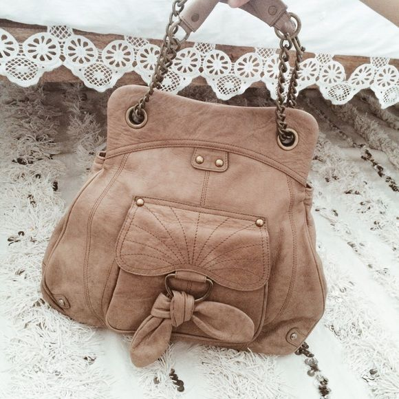 Hayden Harnett Brown Bag Only used a few times, in excellent condition. Selling for sis. Anthropologie Bags
