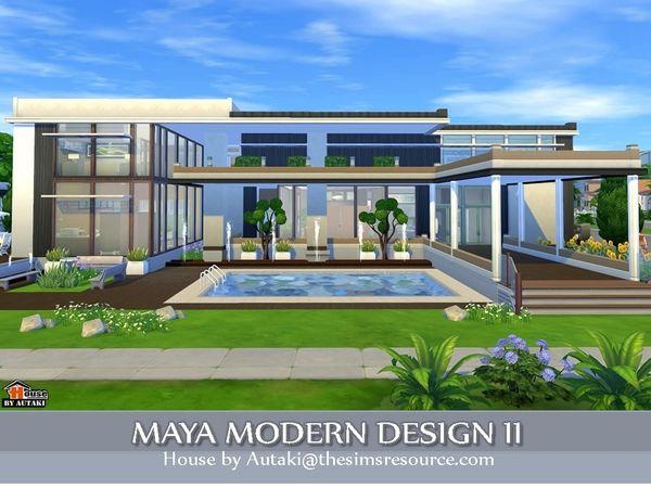 Maya Modern Design 2 by autaki at TSR via Sims 4 Updates | Sims 4 ...