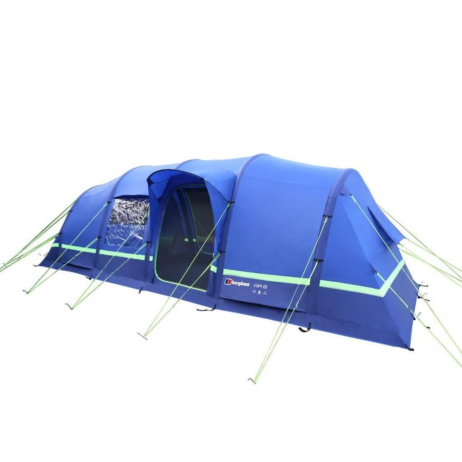 Berghaus Air 8 Inflatable Tent - plenty of space for large families but none of the hassle of bulky poles. A reasonably priced inflatable tent as well.  sc 1 st  Pinterest & Berghaus Air 8 inflatable family camping tent | CWS ? Tents ...