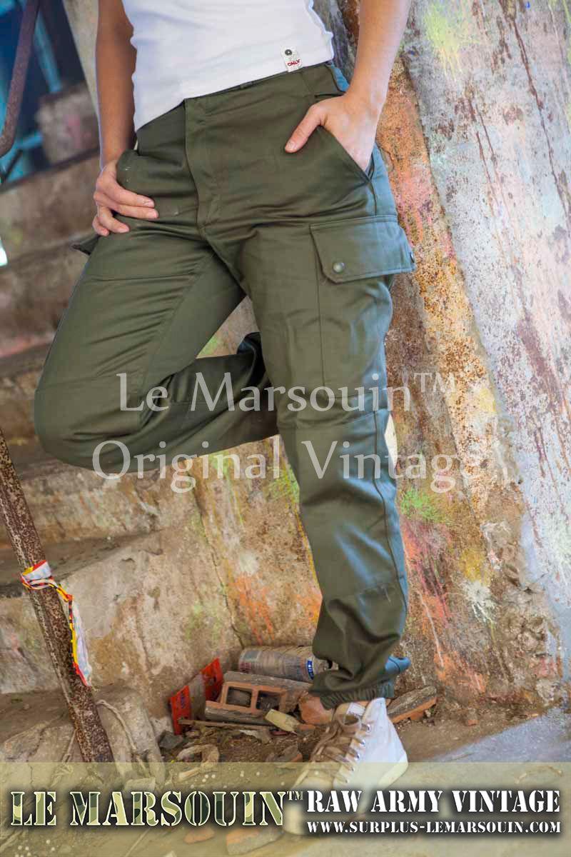 4e7c42246bca0 pantalon treillis femme kaki f2 | Dress Code Army Style | Treillis ...