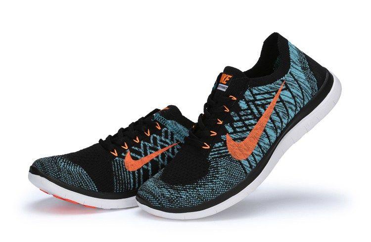 factory price 02a34 76fac Nike Free Run Flyknit 4.0 Men Black Green