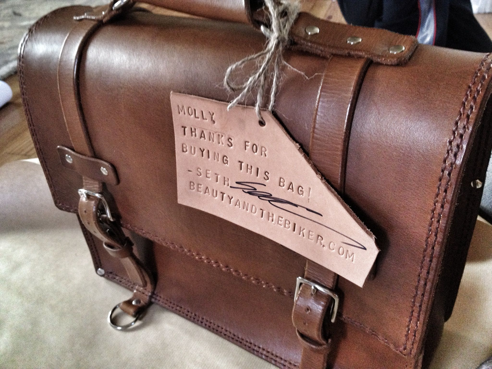 Handmade Leather Bags Are Hard Work - Beauty and the Biker | Shoes ...