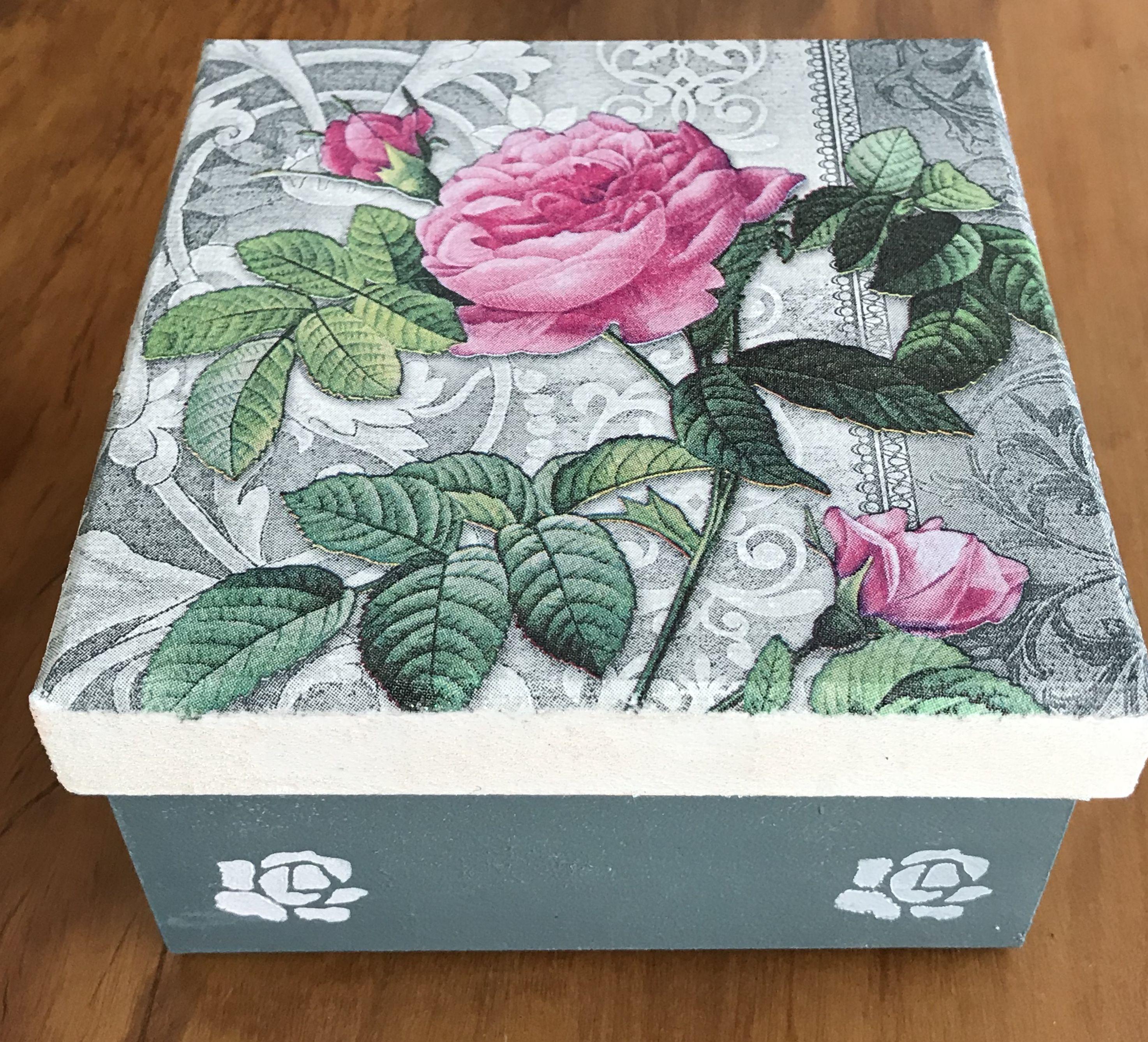 Handmade Decorative Boxes Pinyolandaos On Cajas  Pinterest  Decoupage And Craft