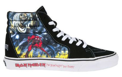 IRON MAIDEN Vans Number Of The Beast Shoes Available Now