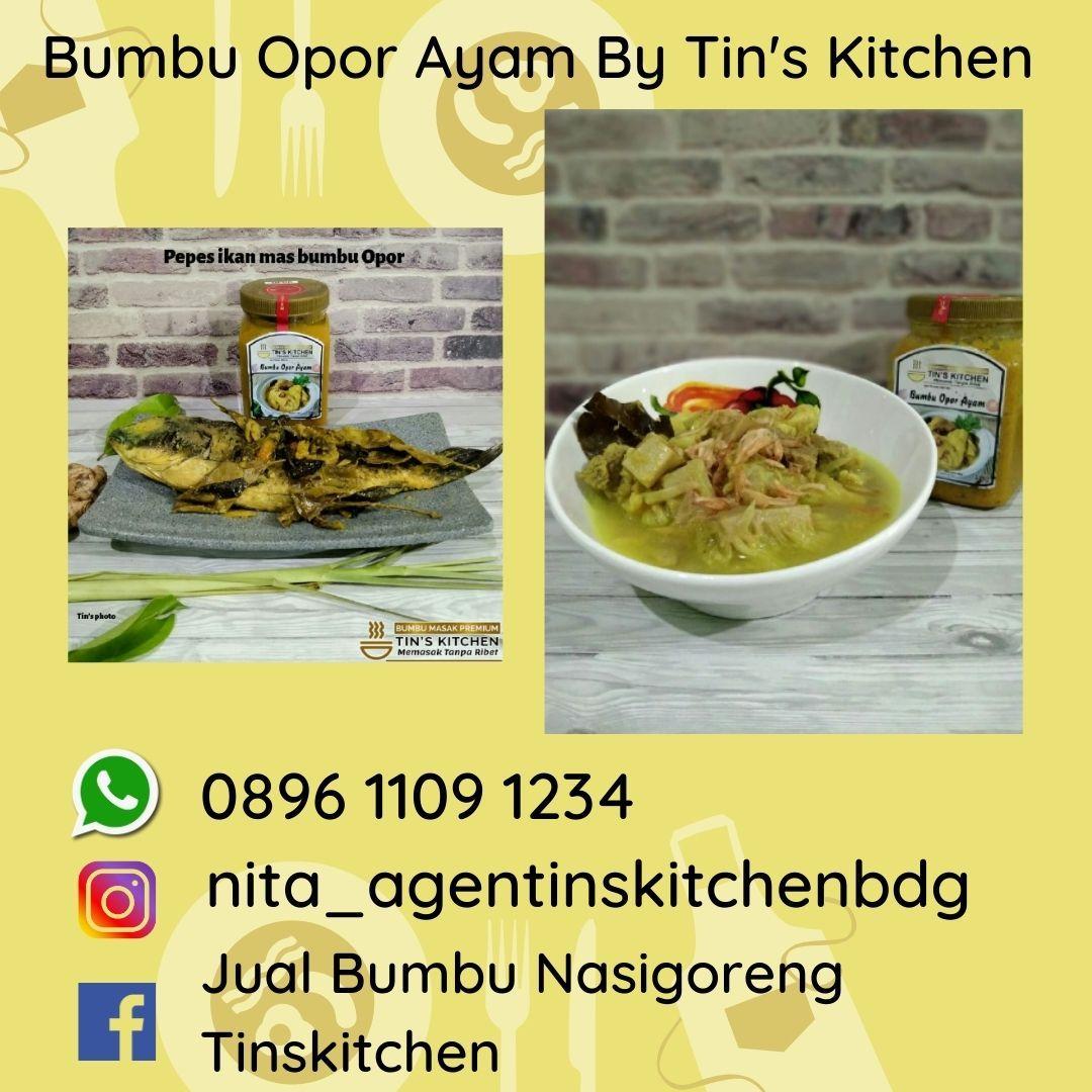 Bumbu Jadi Opor Ayam Sederhana Tapi Enak 0896 1109 1234 Tin Kitchen Beef Food