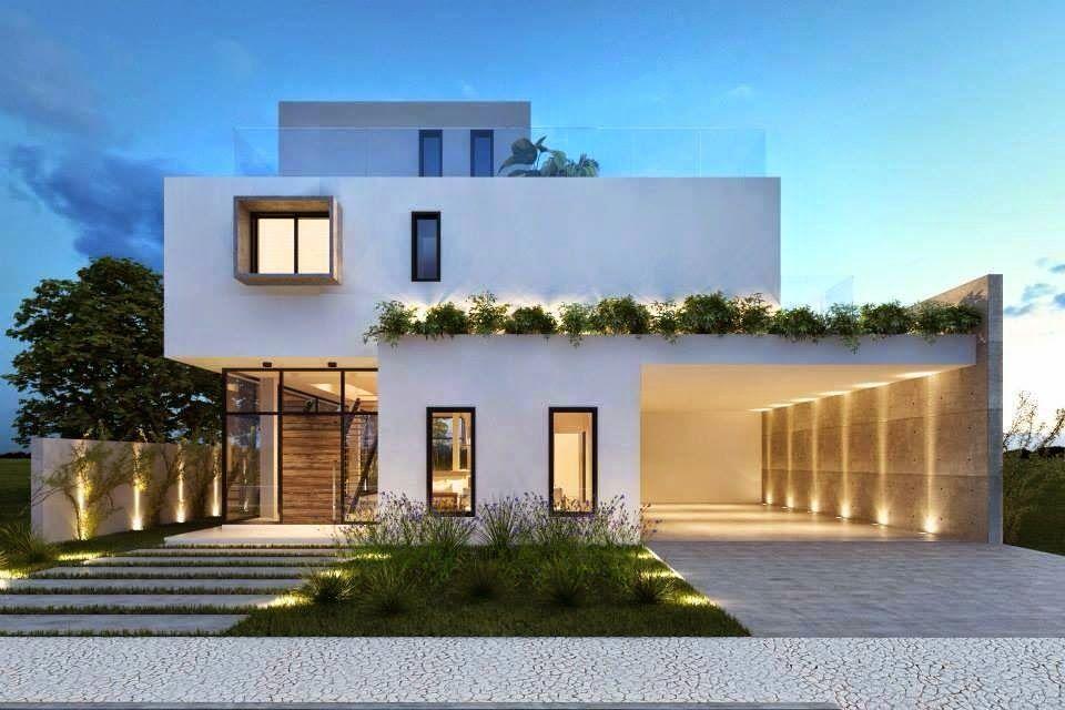 30 fachadas de casas modernas dos sonhos design house for Fachadas modernas