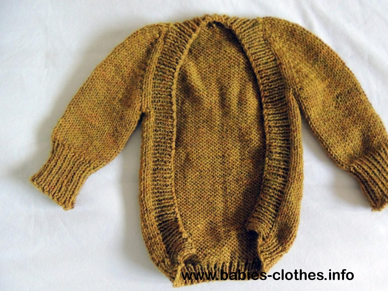 Knit Baby Sweater, baby cardigan, baby sweatshirt, organic baby ...
