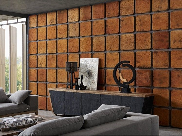 Wood cladding for interior DB004151   Coating by Dialma ...