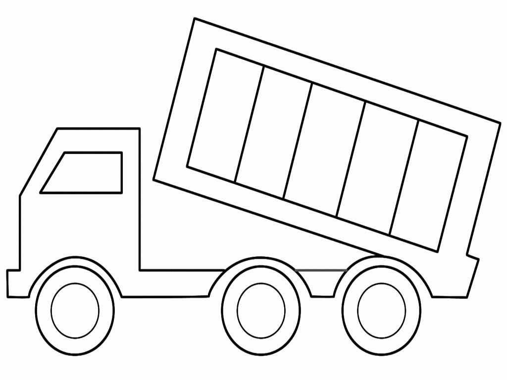 Dump Truck Coloring Book In 2020 Truck Coloring Pages Dump