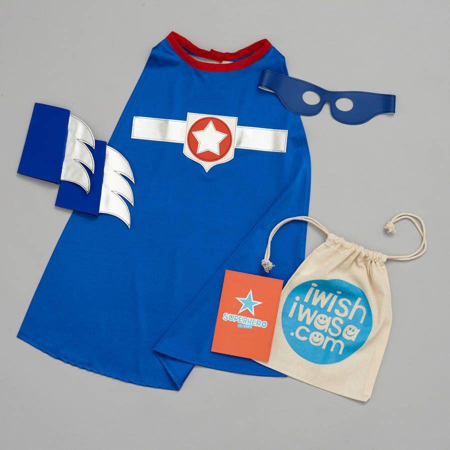 Superstar Costume Set Superhero Gift Set #superherogifts