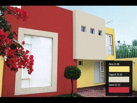 Colores para fachadas de casas elegantes angelica - Catalogos de pinturas para casas ...