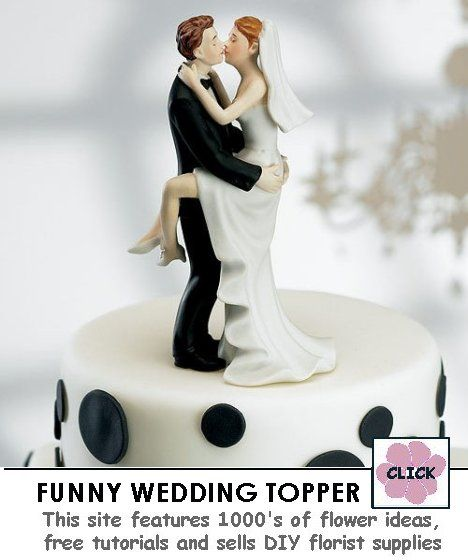 """Groom Holding Bride Cake Top Approximately 6"""" tall $32 31"""