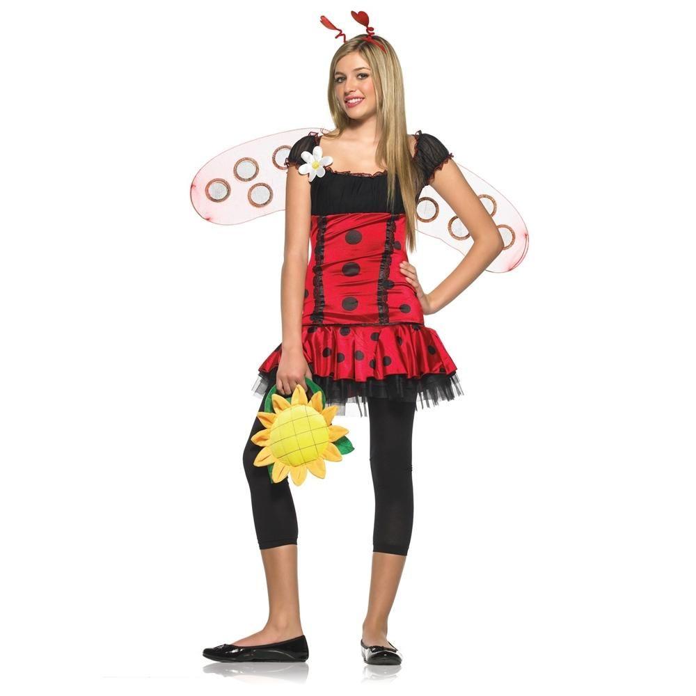 teen Bug costume lady