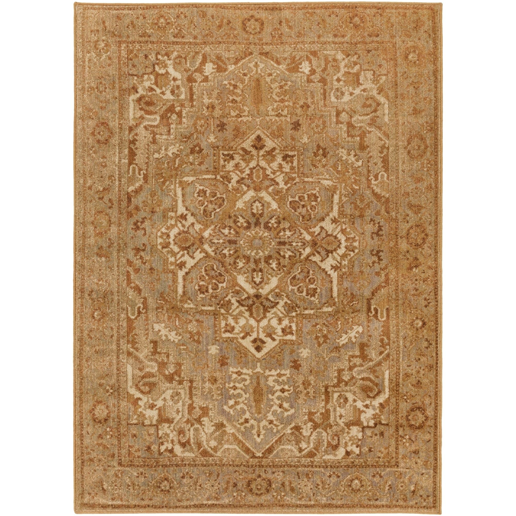 Burbank Area Rug 6 7 X 9 6 Orange Products In 2018 Rugs
