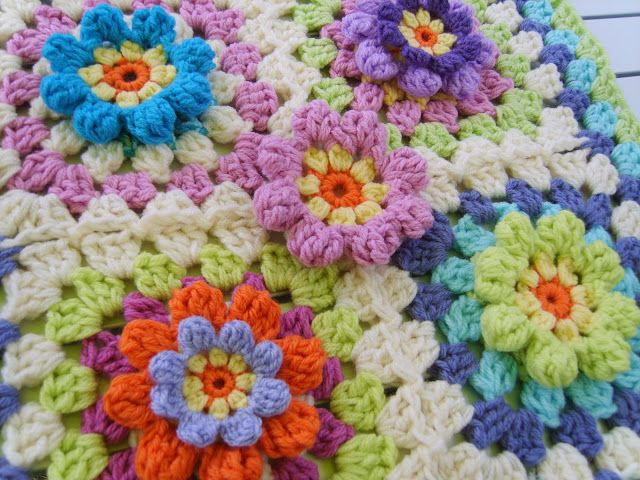 Suz Place: BIT OF SPRING CLEANING LED TO A RAMBLING YARN | CROCHET ...