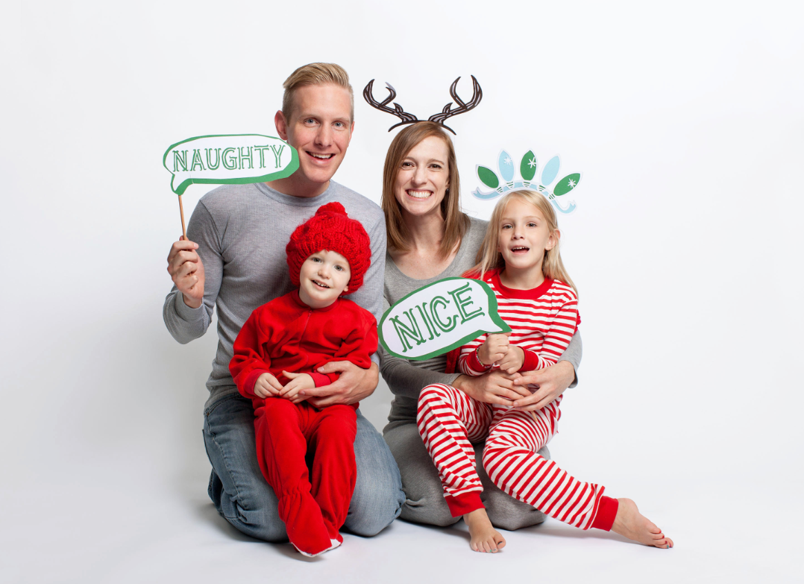 Cricut Photo Booth Props Cartridge Make Holiday Photo Props With