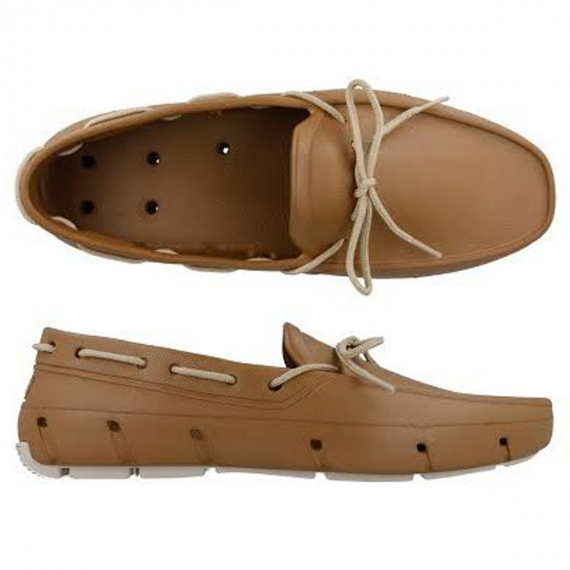 Cognac & Vanilla/Men's Giller Water Proof Boat Shoes