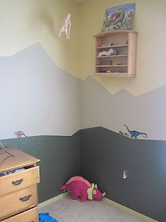 Best Finished The Boys Dinosaur Room Dinosaur Boys Room 400 x 300