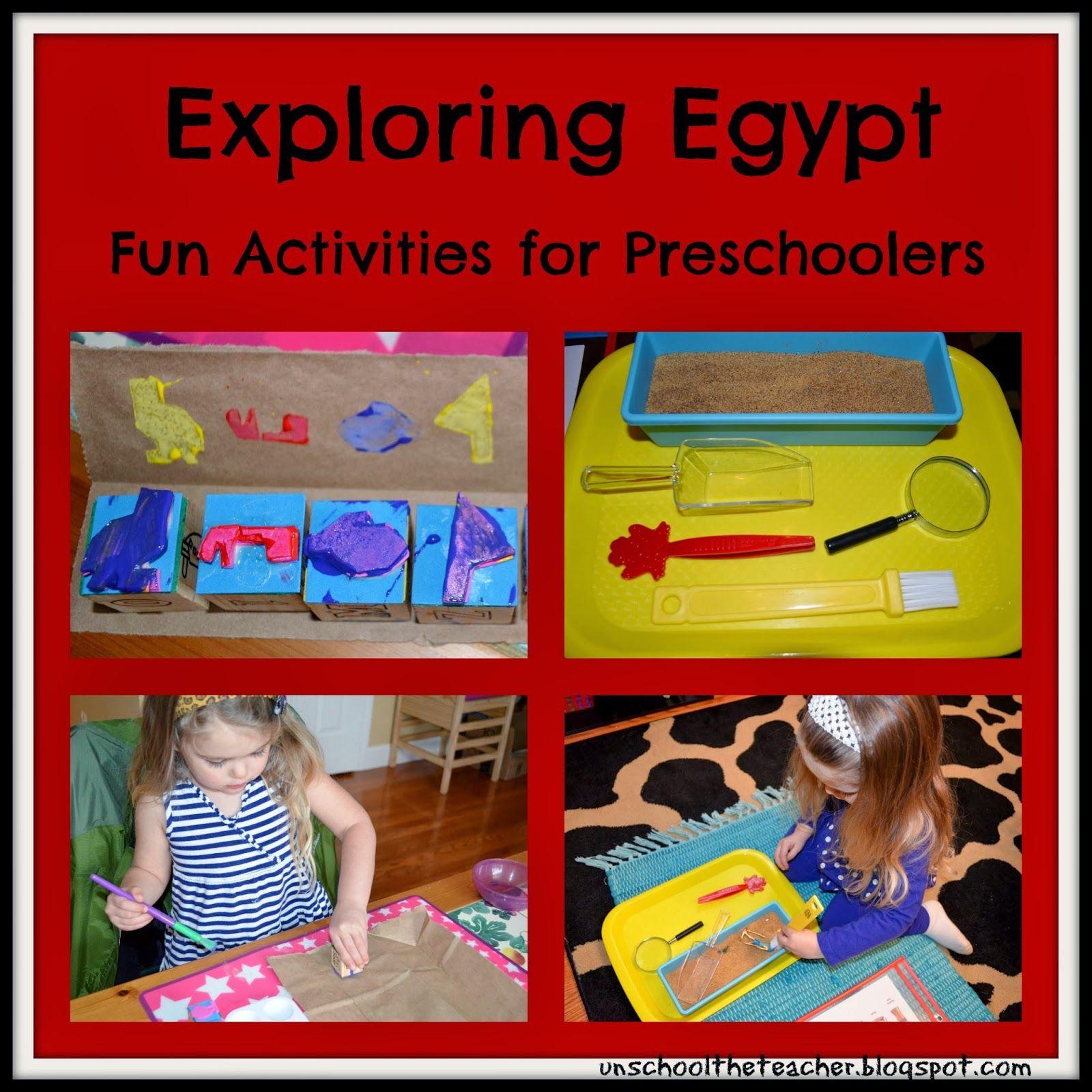 Unschool The Teacher A Is For Africa Egypt Activities Egypt Activities Ancient Egypt Activities Preschool Activities [ 1600 x 1600 Pixel ]