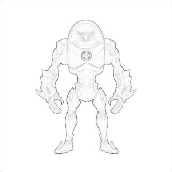 Ben 10 Coloring Pages Chromastone New Coloring Pages