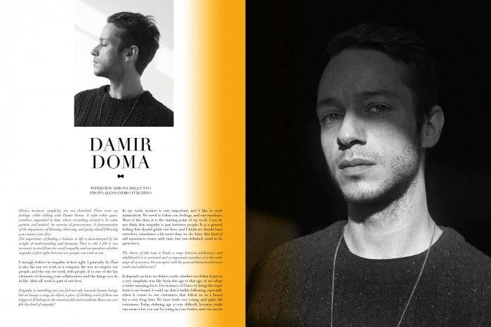 Damir Doma   Photographer – Alessandro Furchino Capria (2DM )