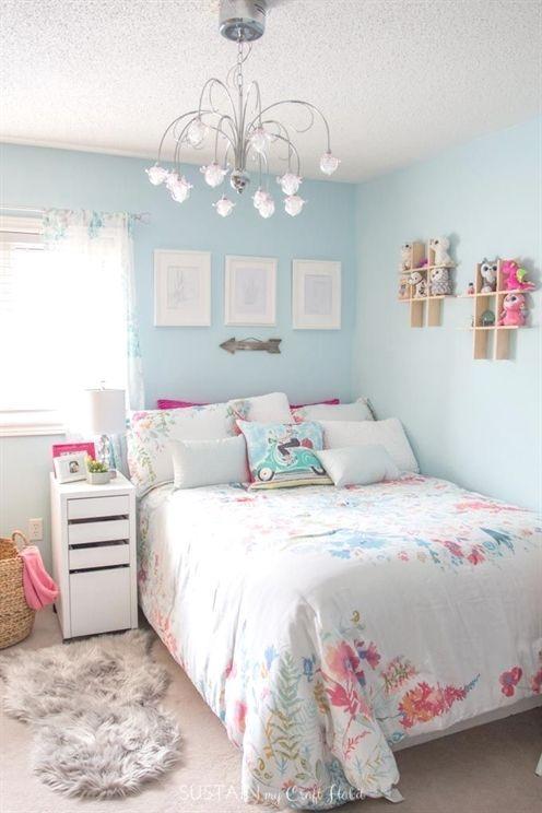 Cute Teenage girl room #bedroomdecorkidscreative # ... on Small Tween Bedroom Ideas  id=97195