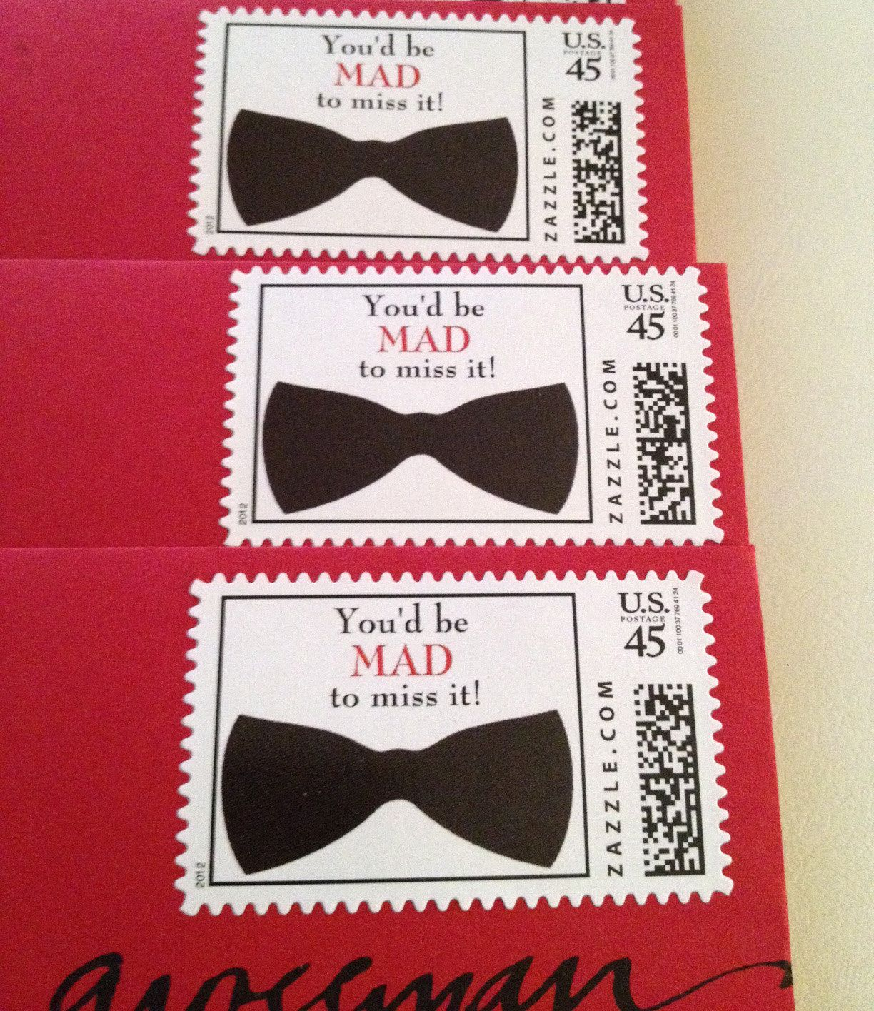 Its all in the Details! Mad Men Party Invitation with coordinating ...