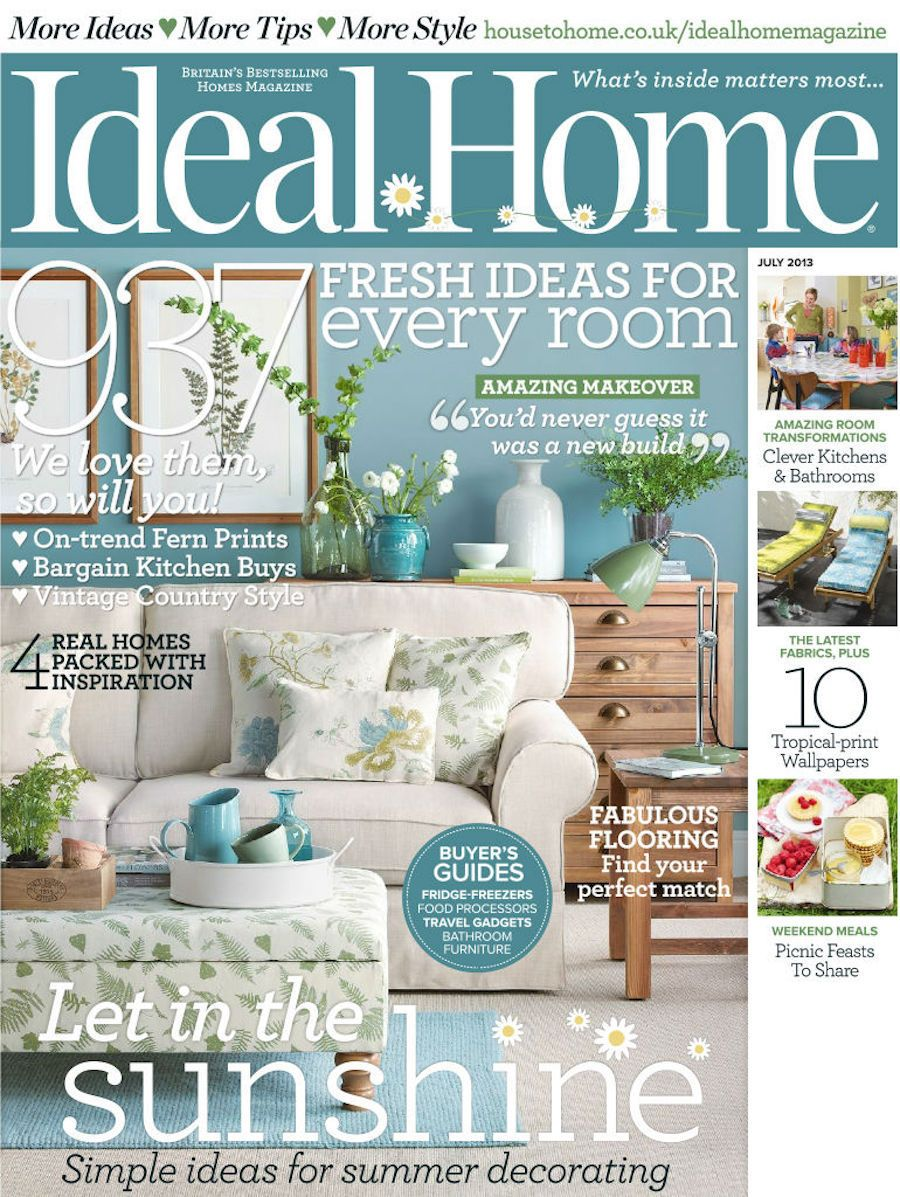 Ideal Home Considered One Of The Best Selling Homes Magazines In