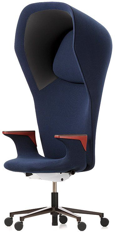 I'm a little perplexed:  Designers Ronan and Erwan Bouroullec have created the Workbay chair for Vitra.