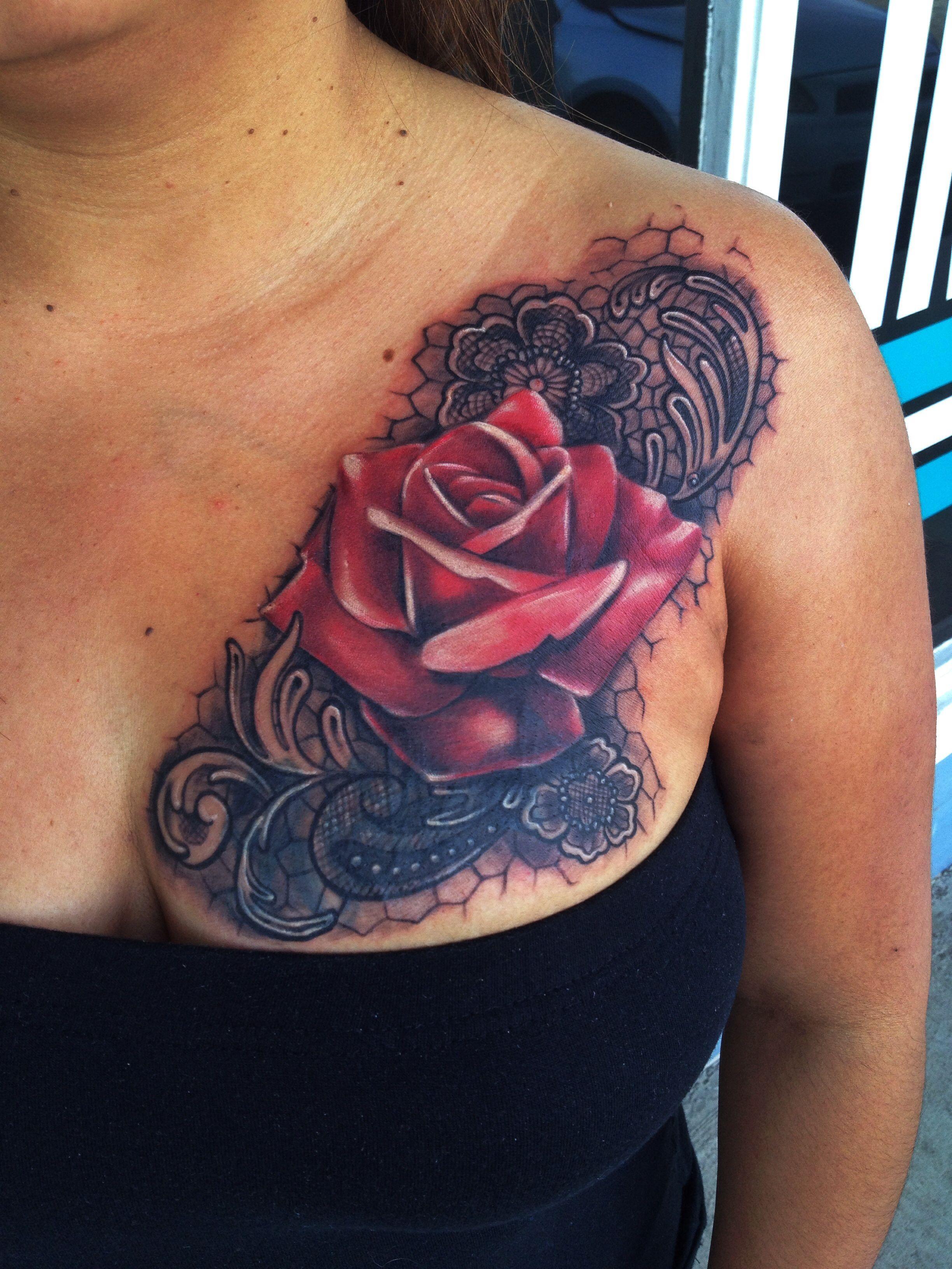 Pin By Evangelink Chrisburnett On Tattoo By Chris Burnett Ink Tattoo Tattoos Lace Tattoo
