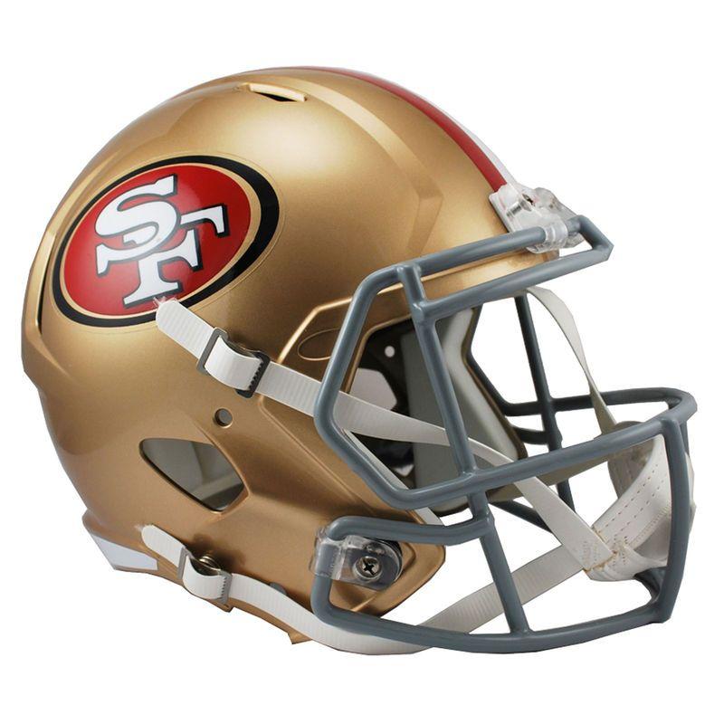 finest selection 192b3 753f2 Riddell San Francisco 49ers Revolution Speed Full-Size ...