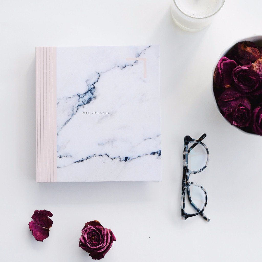 Daily Design Love Planner. Our 6 Month Undated Daily Design Love Planner is finally available and in two simple and sophisticated designs. You can pick this one up and start any time.