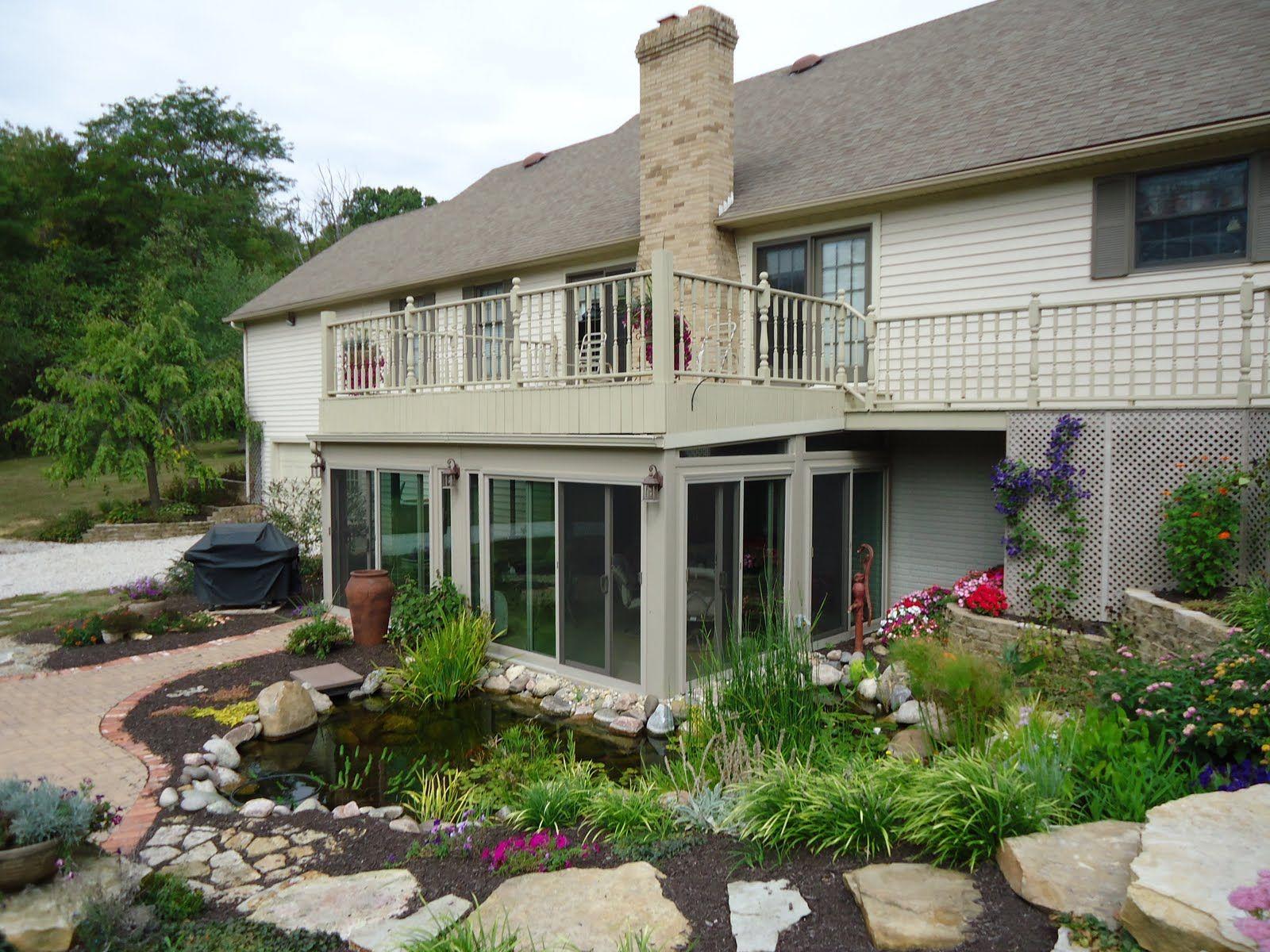 Porch enclosed under deck Enclosed patio, Under decks