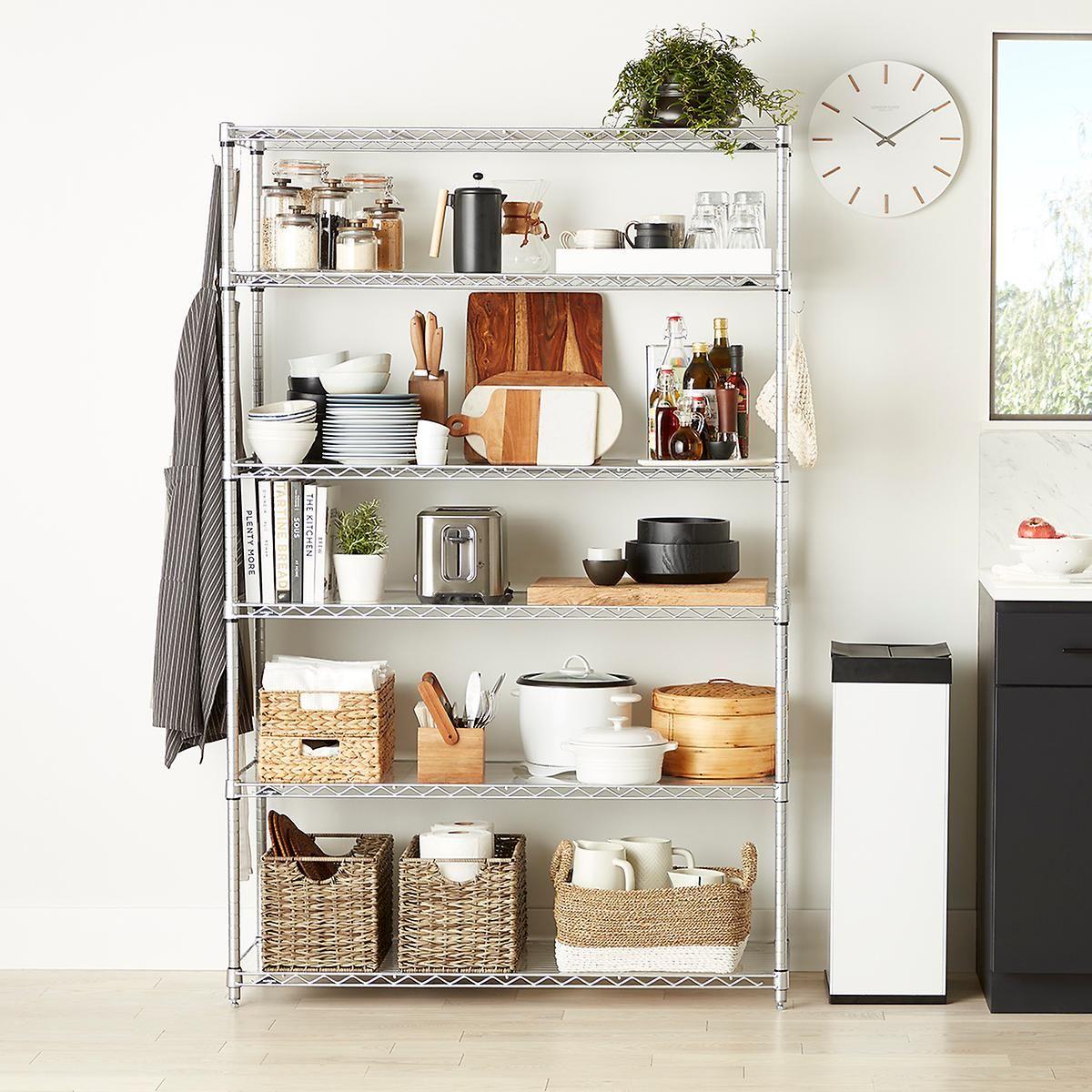 Intermetro 6 Shelf Solution No Pantry Solutions Shelves Shelving