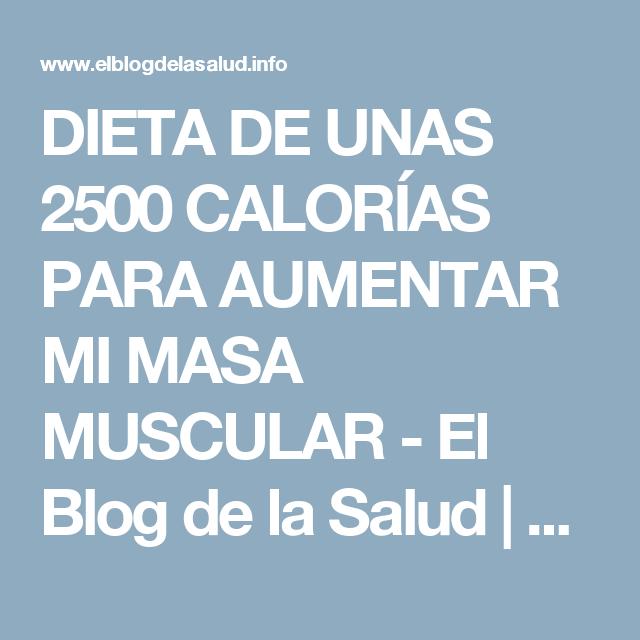 Blog dieta baja en calorias
