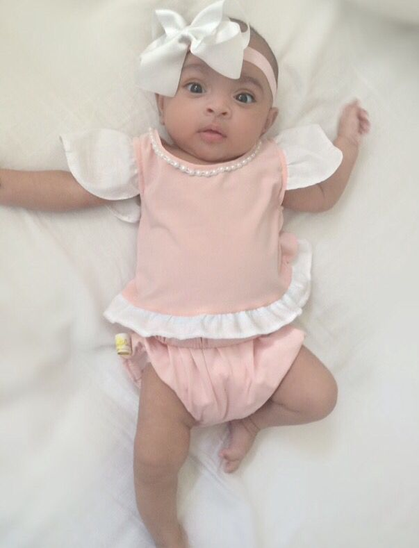 soft pink pearl top and bloomer knickers set sizes premature to 2 years old visit website2 year - Website For 2 Year Olds