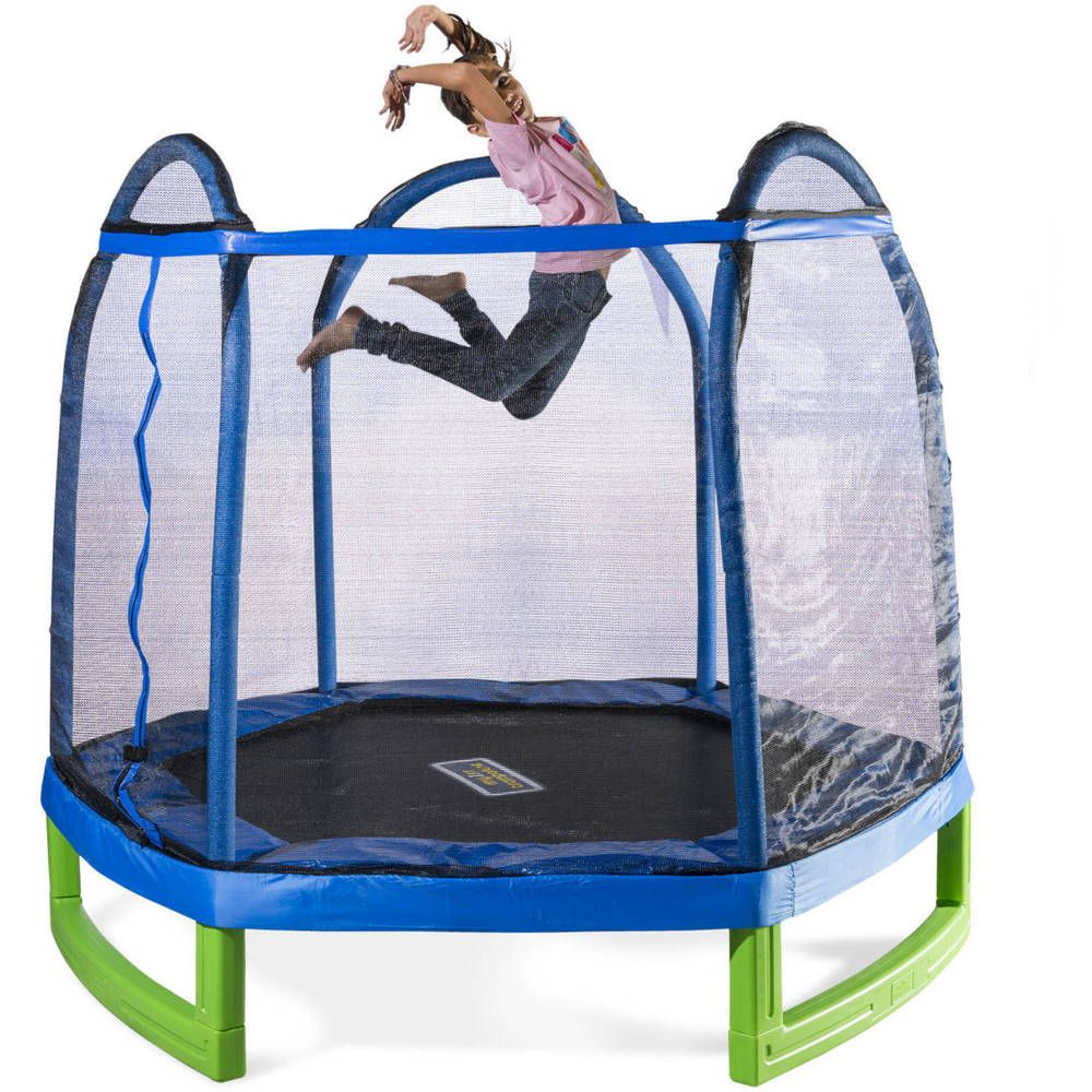 Bounce Pro Trampoline Replacement Springs: Details About Bounce Trampoline Enclosure Net Kids Boy