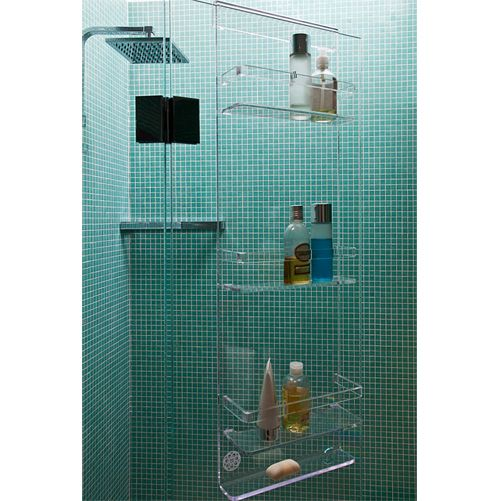 Over the screen shower caddy. Awesome! #organize #ideas #tips ...