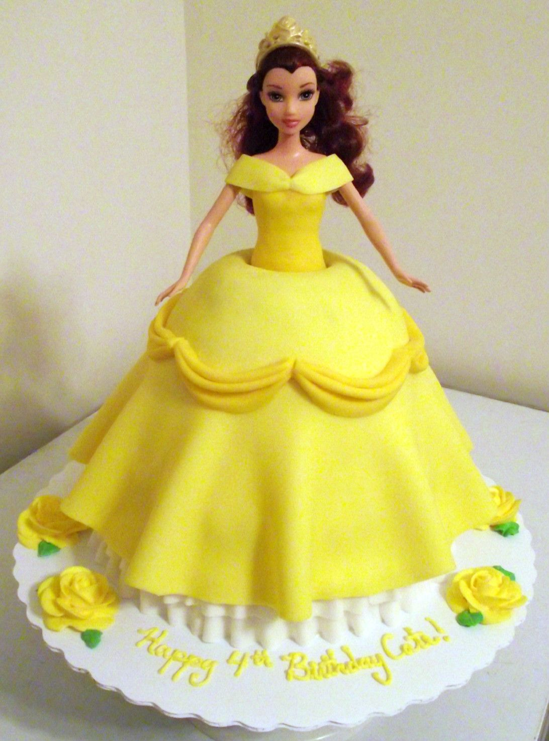Cake Pics Of Doll : Belle Doll Cake by ayarel Marbled vanilla/chocolate cake ...