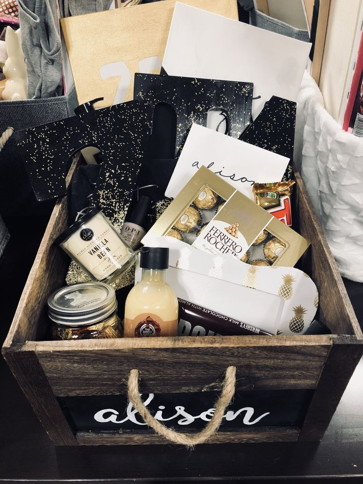 big little gifts basket ideas