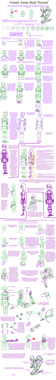 Female Anime Body Tutorial by mystarseeker on DeviantArt