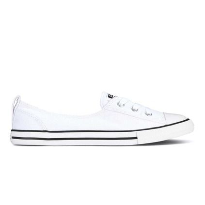 42072207756a Converse Women s Chuck Taylor All Star Dainty Ballet Lace Slip. Converse  Dainty Low Leather Women s Casual Shoes